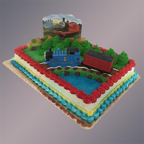 Custom Decorated Airbrush Cake