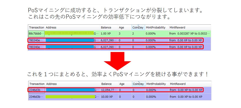 XP transaction