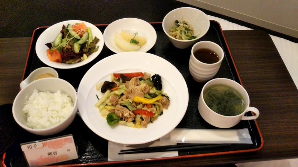 杉浦ウィメンズクリニック夕食1