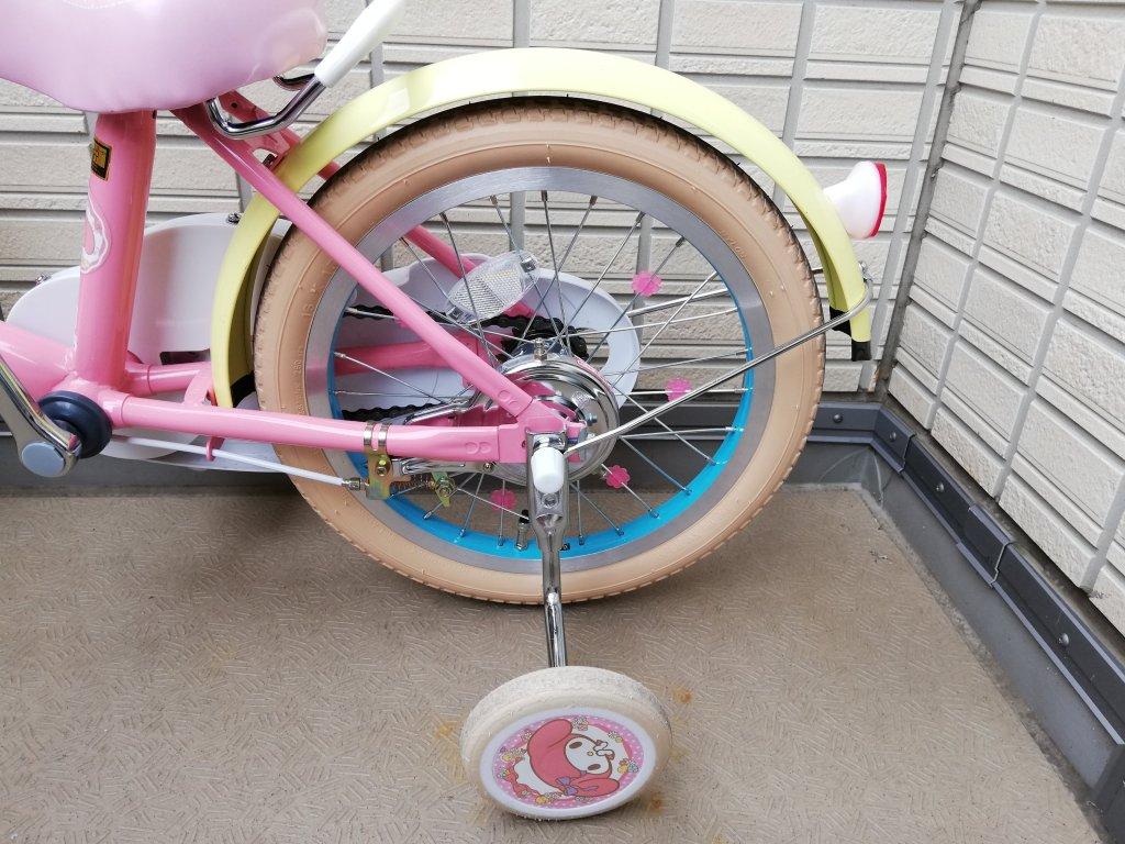 マイメロ自転車補助輪