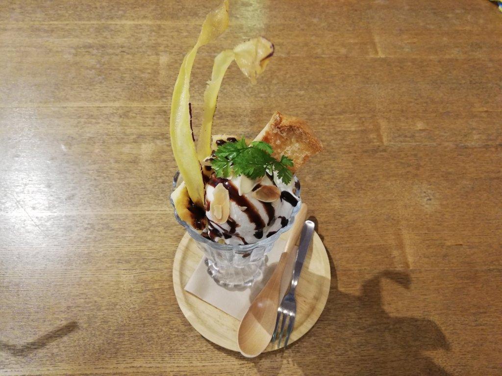 瑞江マチカフェプラスのパフェ