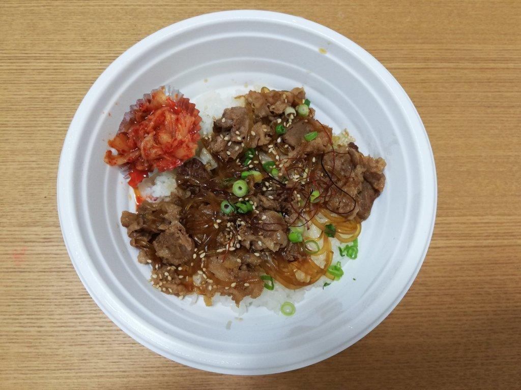 花炎亭鹿骨店のプルコギ丼