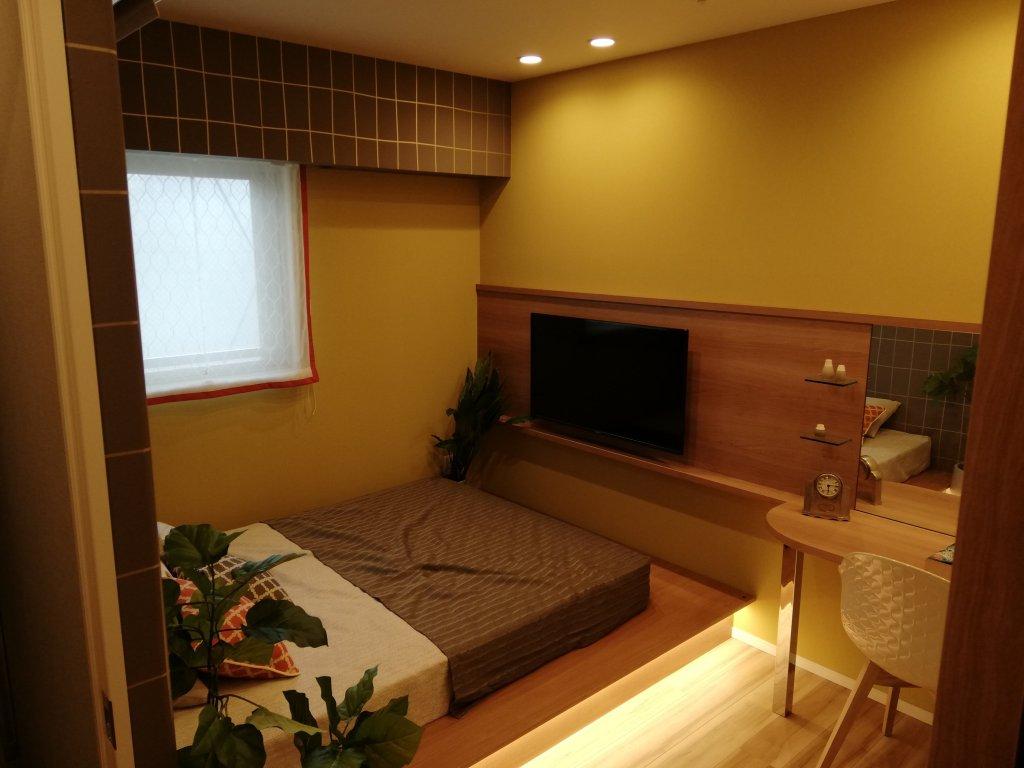 ルピアコート篠崎のモデルルームの寝室