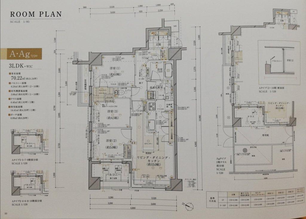 ルピアコート篠崎の部屋タイプAの間取図
