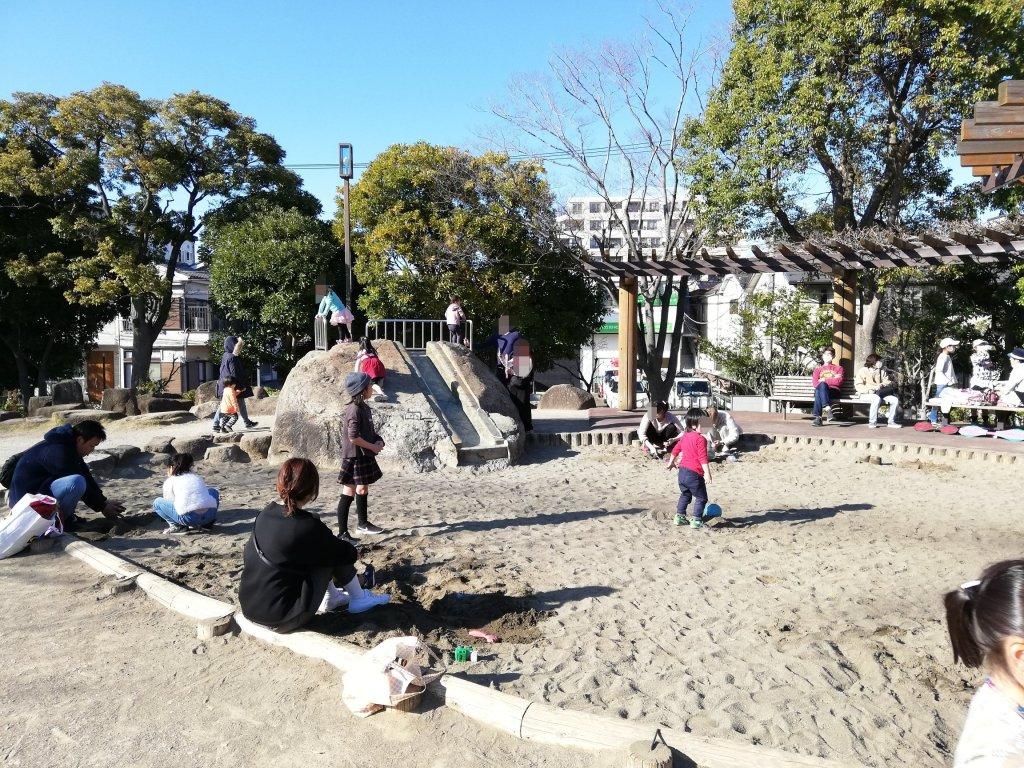江戸川区富士公園の遊具