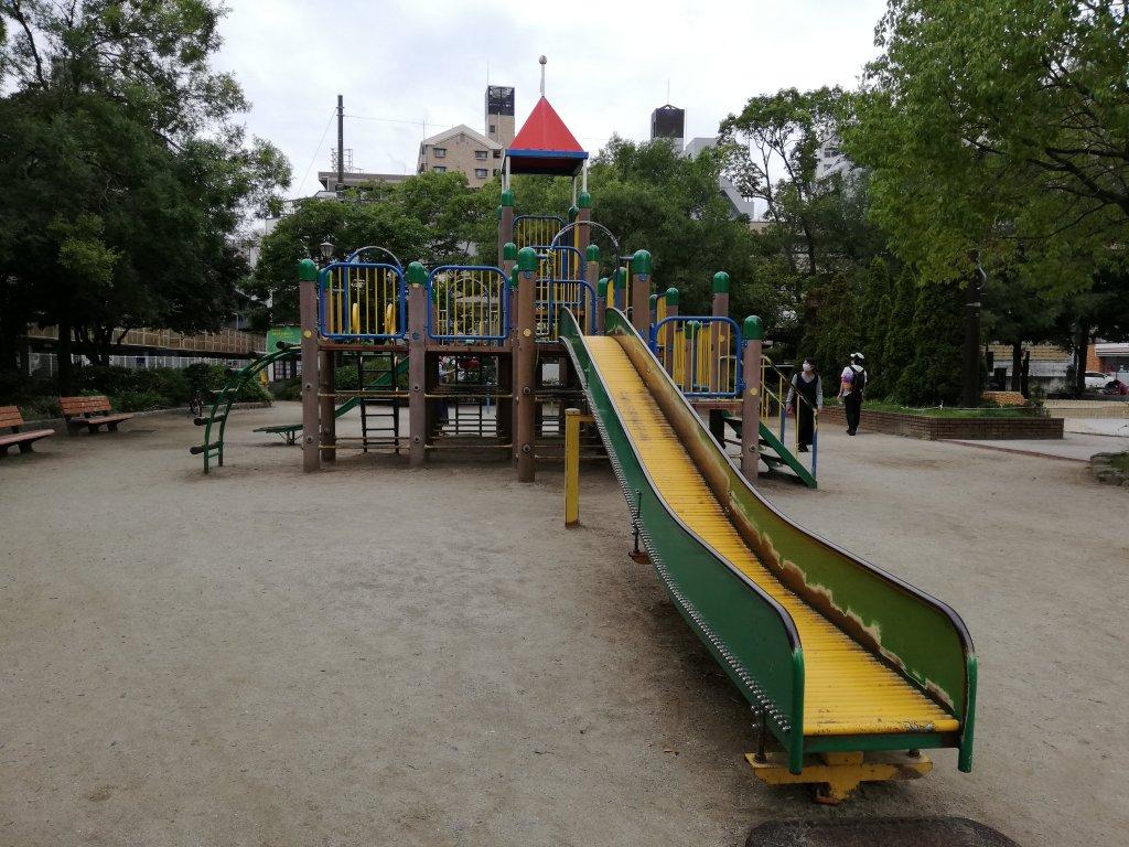 葛西東公園の遊具