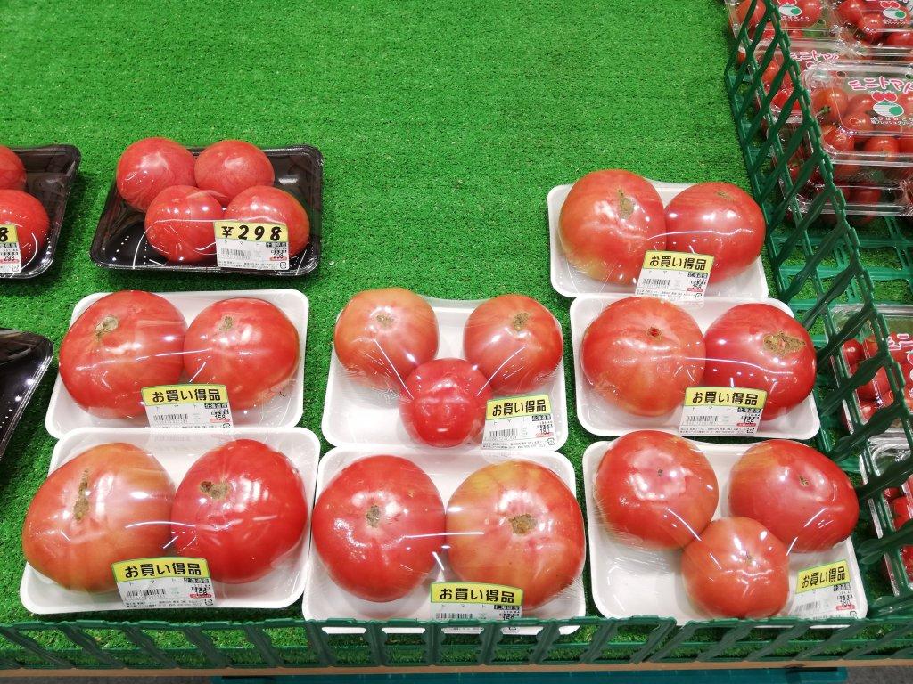業務スーパーのお徳用トマト