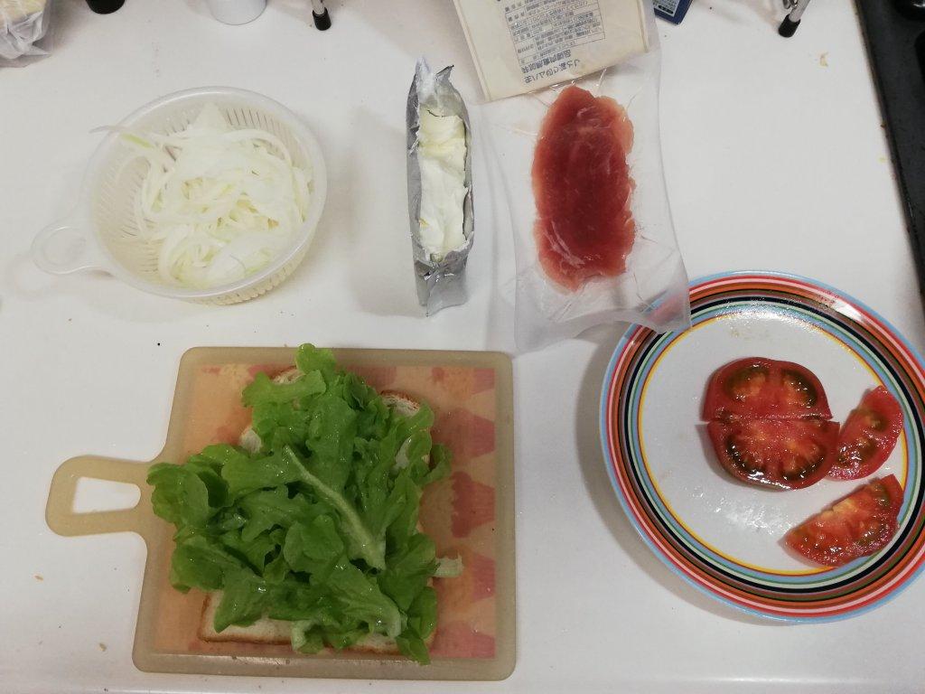 業務スーパー食材でサンドイッチを作ってみる