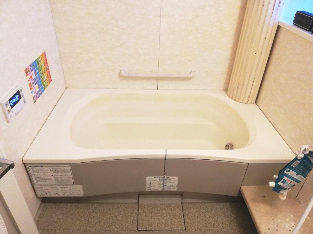 2005年築の中古マンションの浴槽
