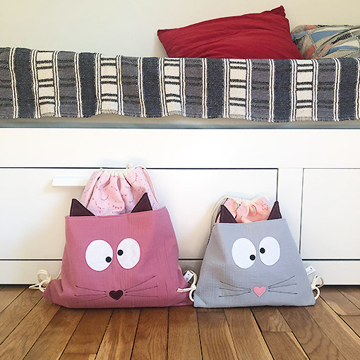 sac a dos chat xl made in france gekati