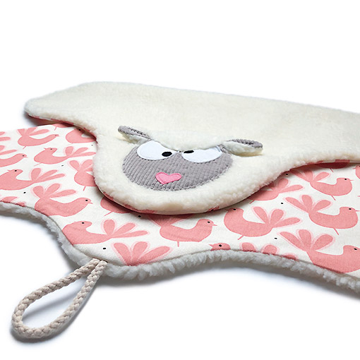 tapis plaid mouton imprime cuicui made in france decoration gekati