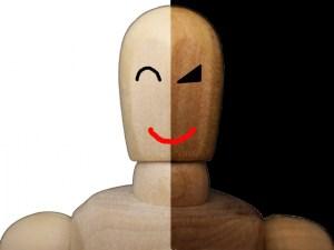 表と裏の顔、どっちが本当の自分かな・・・。
