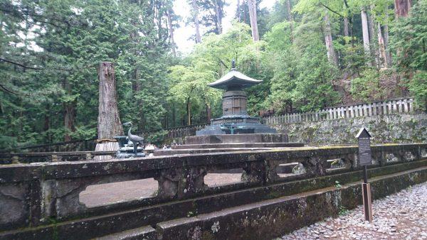 パワ-スポット、奥宮は徳川家康公のお墓