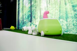 gelatinadesign - salonedelmobile5 arredo giardino furgoncino