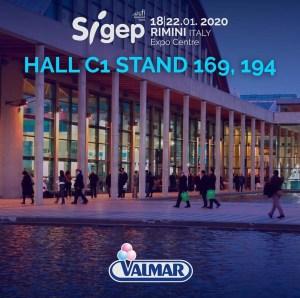 Os esperamos en el stand de Valmar Global en Sigep 2020