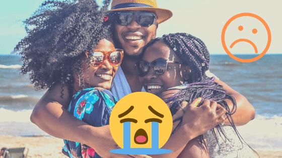 Friends Hugging - Sad - Social Distancing