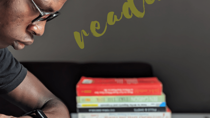 I'm an African but… I love reading!