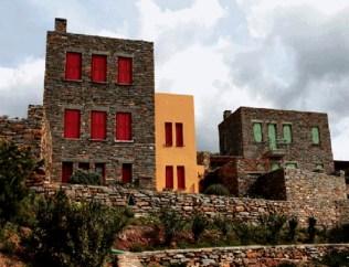 new houses, Greece