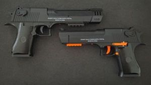 RenXiang Desert Eagle Gel Ball Blaster comparaison
