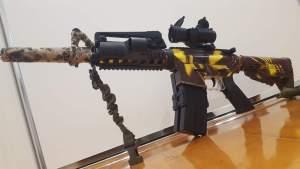 NewWells M401 mod 4 Gel Blaster