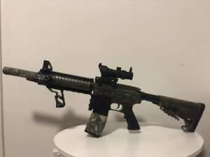 NewWells M401 mod 2 Gel Blaster