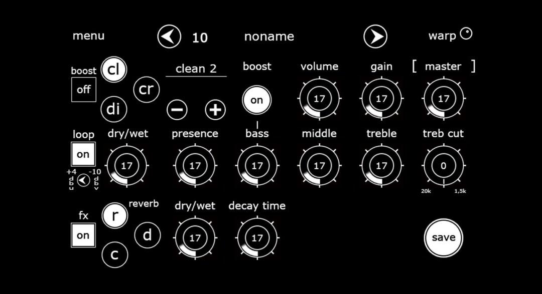 Geldern Amps Interface