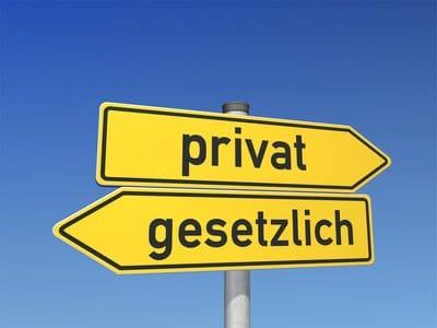 Gesetzliche und Private Rentenversicherung Wegweiser privat gesetzlich