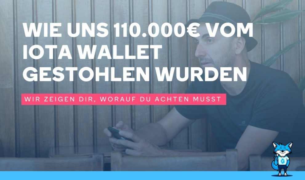 Wie uns 110.000€ vom IOTA Wallet gestohlen wurden in Sekunden