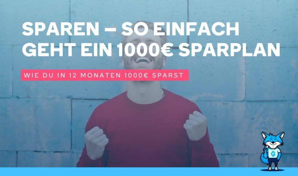 Jetzt starten mit deinem Sparplan und in einem Jahr 1000€ Urlaubsgeld