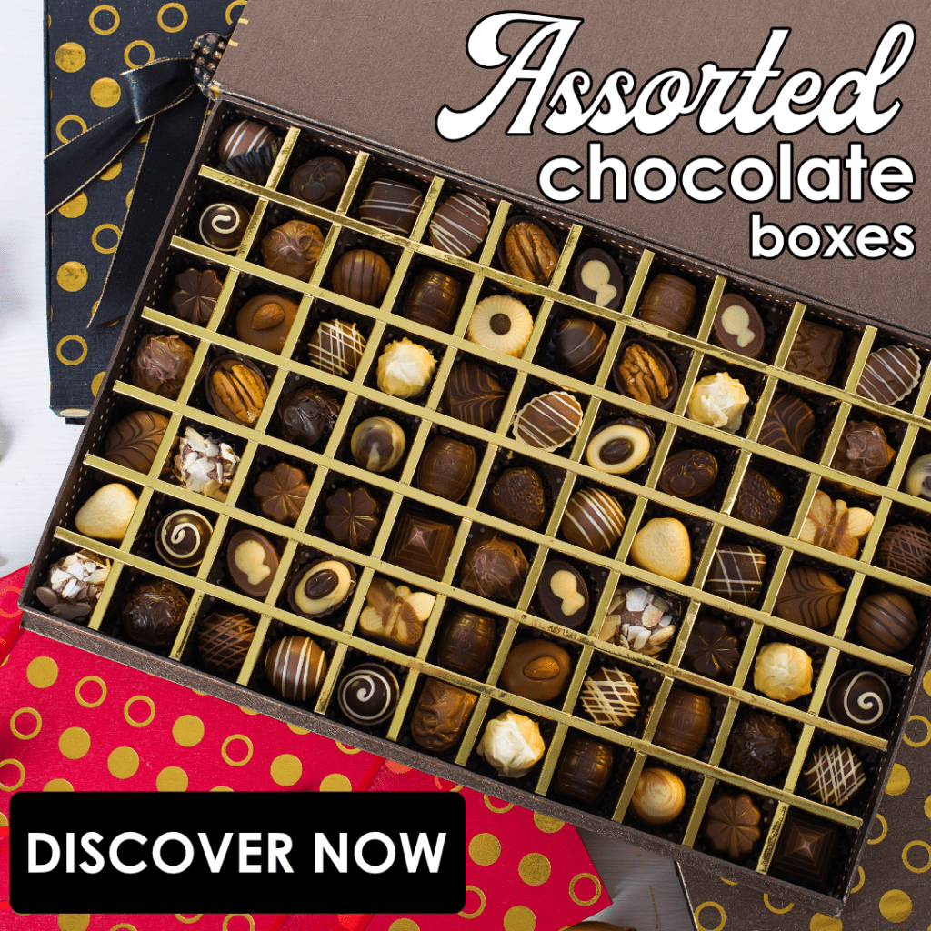 Discover our Assorted Chocolates Boxes