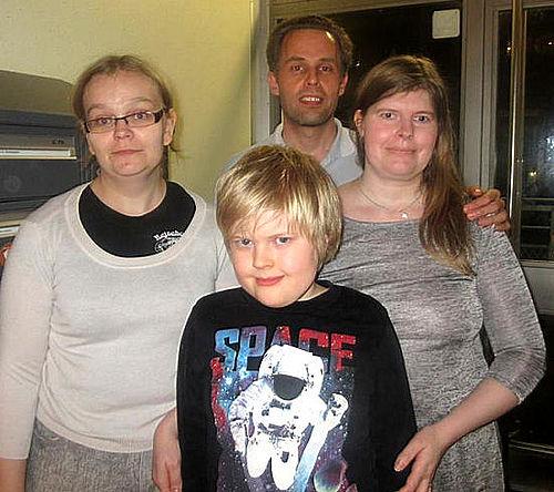 Familien Pedersens kristne jul