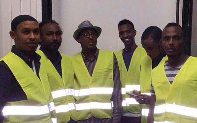 Somaliere sender brugt udstyr til Somalia