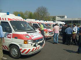Ambulancer fra Gellerup til Gaza