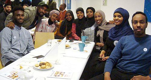 Kvindesvømmer hyldet af somalisk-danskere