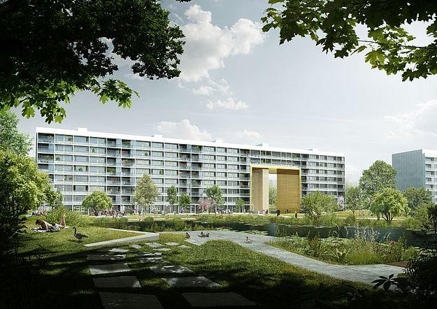 Blok B4: Nyt udseende, nye boligtyper