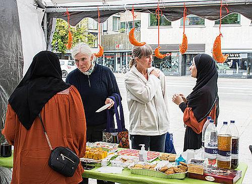 Ramadan-telt lokkede 500 til
