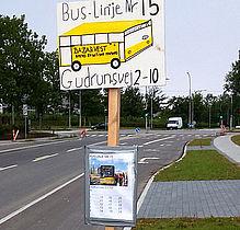 Nyt 'busstop' pillet ned igen