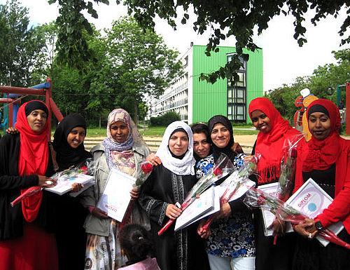 Bydelsmødre fik diplomer