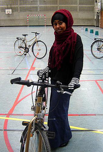 Cyklister slippes løs i Nordgaardhallen