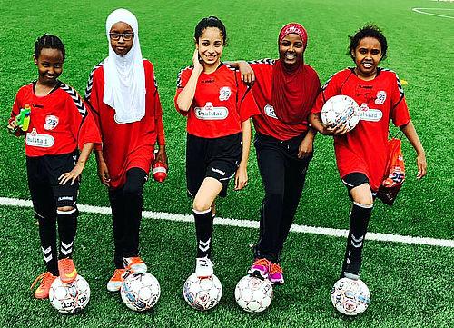 Fodbold og venindehygge