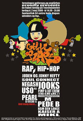 Landets bedste rappere til Gelleraps 2. maj
