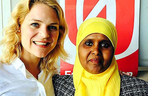 'Hurra for seje kvinder som Ilham'