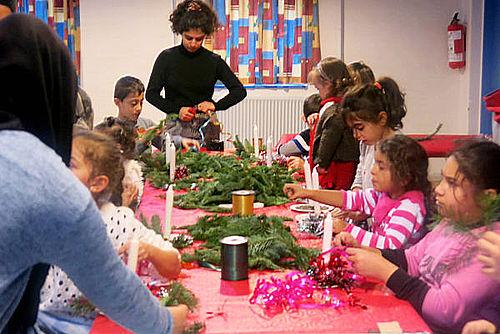 Vellykket julefest på Toveshøj