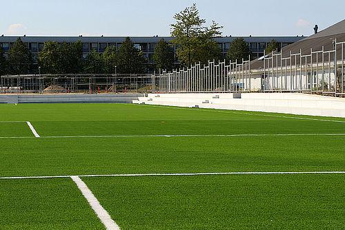 Fra torsdag skal der spilles fodbold her