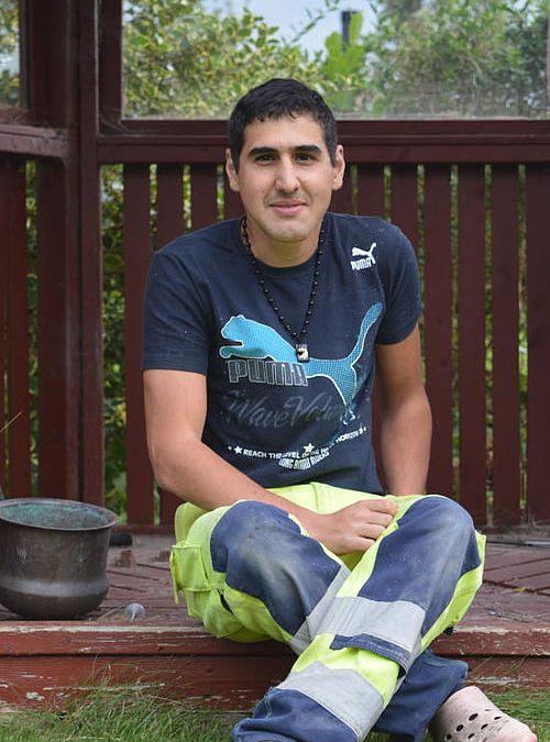 """Majid arbejder gerne """"under jorden"""""""