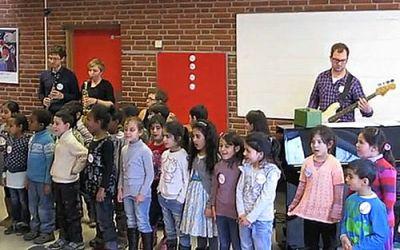 Violin og cello på Tovshøjskolen