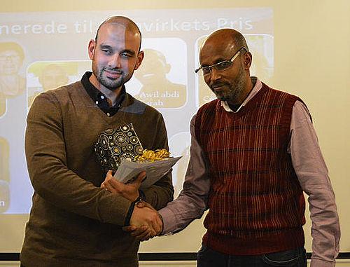 Osama Salame vinder Samvirkets Pris 2015