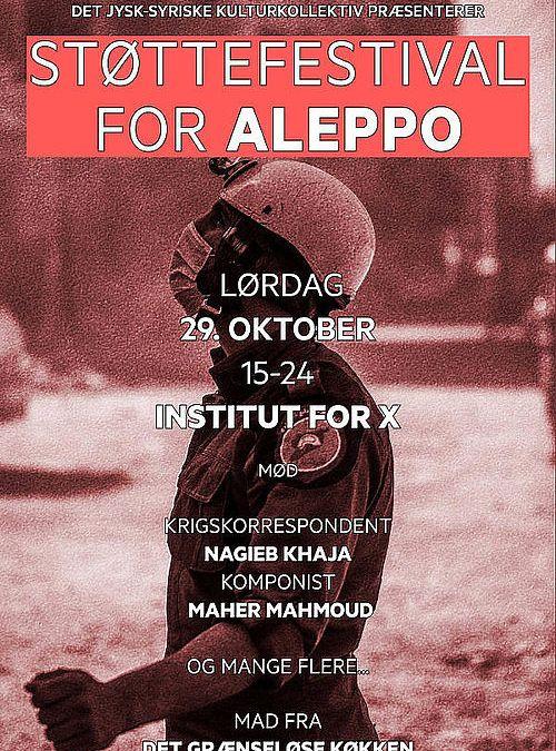 Støttefestival for Aleppo