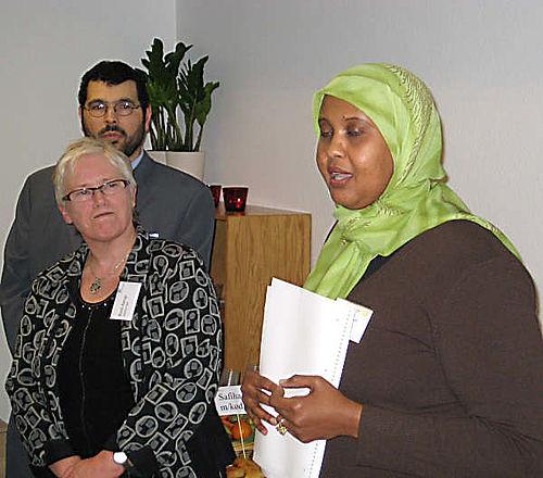 Somalisk kvinde leder projekt for integration og jobformildling