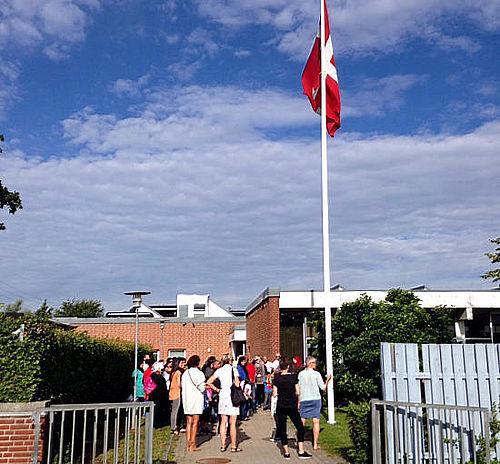 To børnehaveklasser på Tovshøjskolen